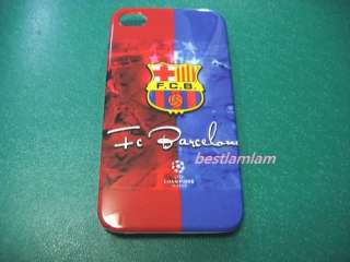 FC Barcelona Football Club Hard case back Cover for iphone 4 4G 4S