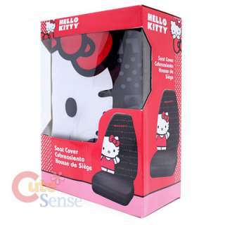Sanrio Hello Kitty Car Seat Cover Pink Auto Accesories set Big Kitty 2