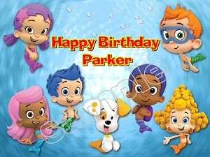 Bubble Guppies #2 Frosting Sheet Edible Cake Topper