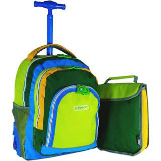 J World Lightning Wheel 16 Rolling Backpack with Bonus