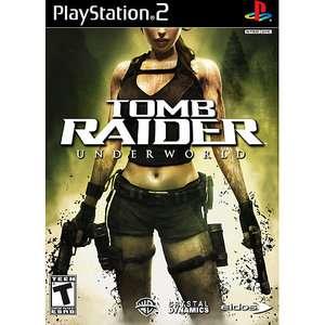 Tomb Raider Underworld (PS2) Games