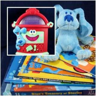 BLUES CLUES LOT books plush JUKEBOX