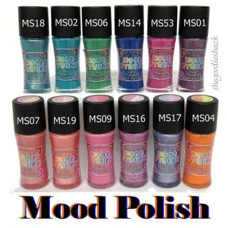 Mood Struck Color Changing Nail Polish / Heat Activated
