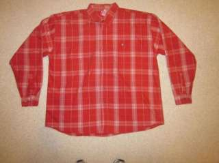 Mens Evolution Red/white Striped Shirt Size 3XL EUC
