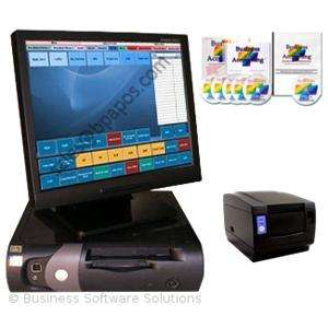 DELL Restaurant POS System W CASH REGISTER PROGRAM