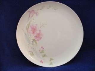 Couture Fine China Pretty Bouquet 8 Plates Mikasa Platinum Trim