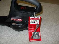 New Craftsman C3 19.2 volt Cordless Leaf Blower 140 MPH Shipping $15