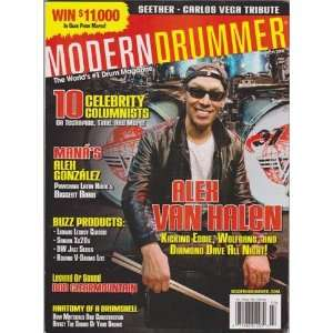 Modern Drummer Magazine (March 2008) (Alex Van Halen