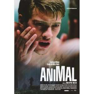 Animal Poster 27x40 Andreas Wilson Emma Griffiths Malin