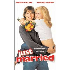 : Just Married [VHS]: Ashton Kutcher, Brittany Murphy, Christian Kane