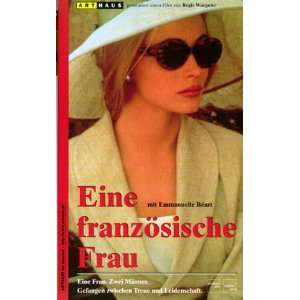 Une femme française [VHS] Emmanuelle Béart, Daniel Auteuil