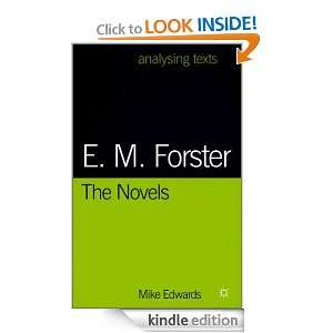 Forster: the Novels: Mike Edwards:  Kindle Store