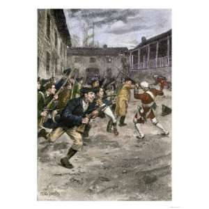 Capture of Fort Ticonderoga by Ethan Allen and the Green Mountain Boys