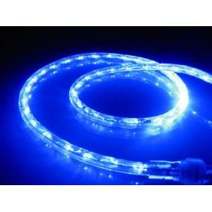 10Ft Rope Lights; Ocean Blue LED Rope Light Kit; 1.0LED