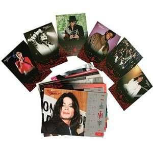 Michael Jackson Pop Star King Memorabilia Trading Cards (Set of 25