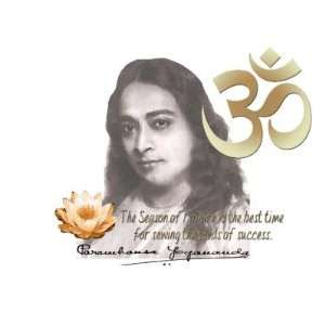 22.The Om Aum Symbol Paramahansa Yogananda Quote Mouse