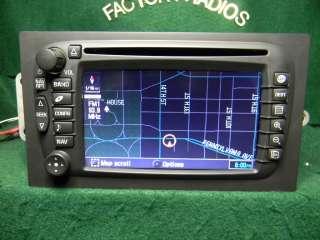 GM CHEVY CADILLAC NAVIGATION DVD RADIO 15204335 LUX 30 days Warranty