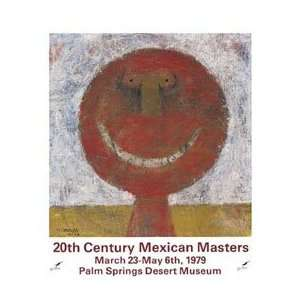 Century Mexican Masters   Artist: Rufino Tamayo  Poster Size: 18 X 18