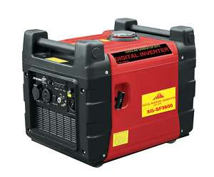 DIGITAL INVERTER 3600W GAS PORTABLE GENERATOR SF3600ER