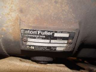 Eaton Fuller Transmission RTLO16610B 10 Speed