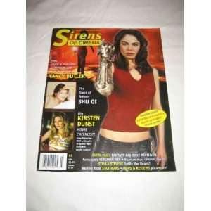 Sirens of Cinema #3 Summer 2002 Yancy Butler Witchblade