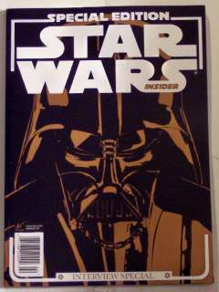 STAR WARS Insider SPECIAL EDITION Interview 2011 MINT