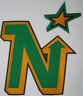 DEFUNCT VINTAGE MINNESOTA NORTH STARS NHL HOCKEY PATCH PATCHES