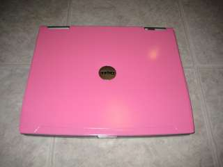 Hot Pink DELL LATITUDE D610 DVD P4 M 1GB 40 WiFi LAPTOP 4