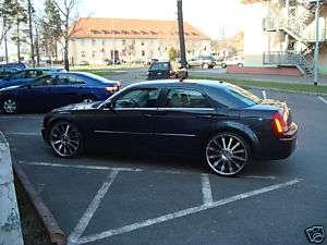 24 Inch TIS Dodge Charger SRT8 Wheels Rims 275/25 Tires