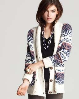 MARC BY MARC JACOBS Kirsten Fair Isle Cardigan Sweater   Sweaters