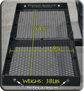 NEW 60x20 CARGO CARRIER LUGGAGE BASKET HAULER 2 HITCH