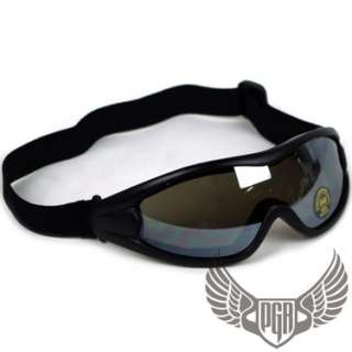 MX MOTOCROSS DIRT BIKE SPORT TINTED GOGGLE D15 SILVER