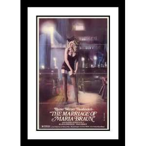 Marriage of Maria Braun 32x45 Framed and Double Matted Movie Poster