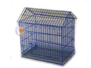 24 blue Folding Pet Dog Cat Wire Cage Crate Kennel