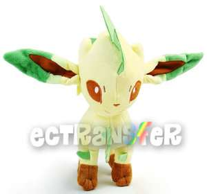 New Pokemon 9.5 LEAFEON Plush Toy Soft Doll Rare/PB14