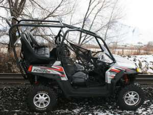UTV Mountain Polaris RZR Rear Seat Roll Cage Kit 103R