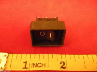 ITT DA Series T85 Rocker Switch 16a/10a/6a 125/250VAC