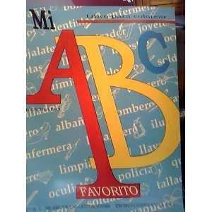 Mi ABC Favorito Libro Para Colorear. Num. 3   Mi ABC De