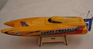Crusher Electric Fiberglass Speed Boat RC RTR Catamaran Racing