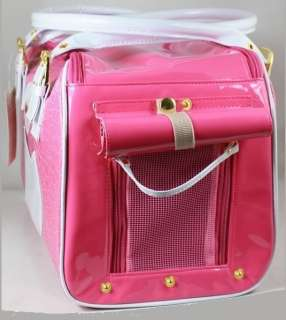 Pink Petcare Pet Dog Cat Bag Carrier Lady Handbag Small