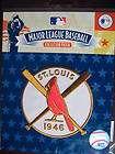 MLB St Louis Cardinals 1946 World Series Champion Patch