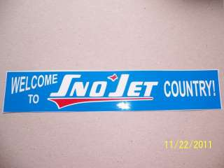 75X9 (NEW Vinyl) Welcome to Sno Jet COUNTRY (Vintage copy of old
