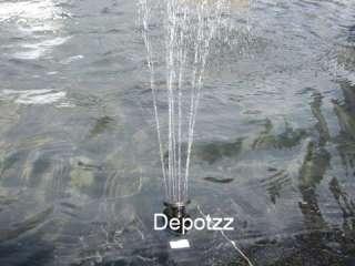 Solar Fountain Pond Water Pump Pool Panel Brushless Kit