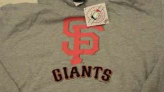 San Francisco GIANTS World Champions Hood Sweatshirt Authentic Size L
