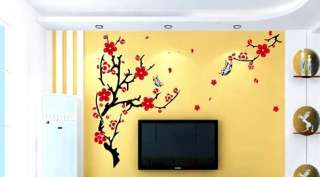Blossom Butterfly Deco Mural Wall Sticker Christmas Gift Xmas