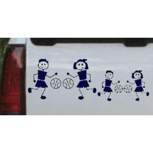Stick Family 2 Kids Stick Family Car Window Wall Laptop Decal