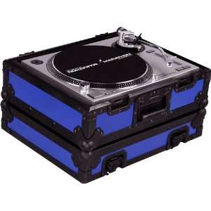 Case Fits Technics 1200 & Other Turntables (Blue): Musical Instruments